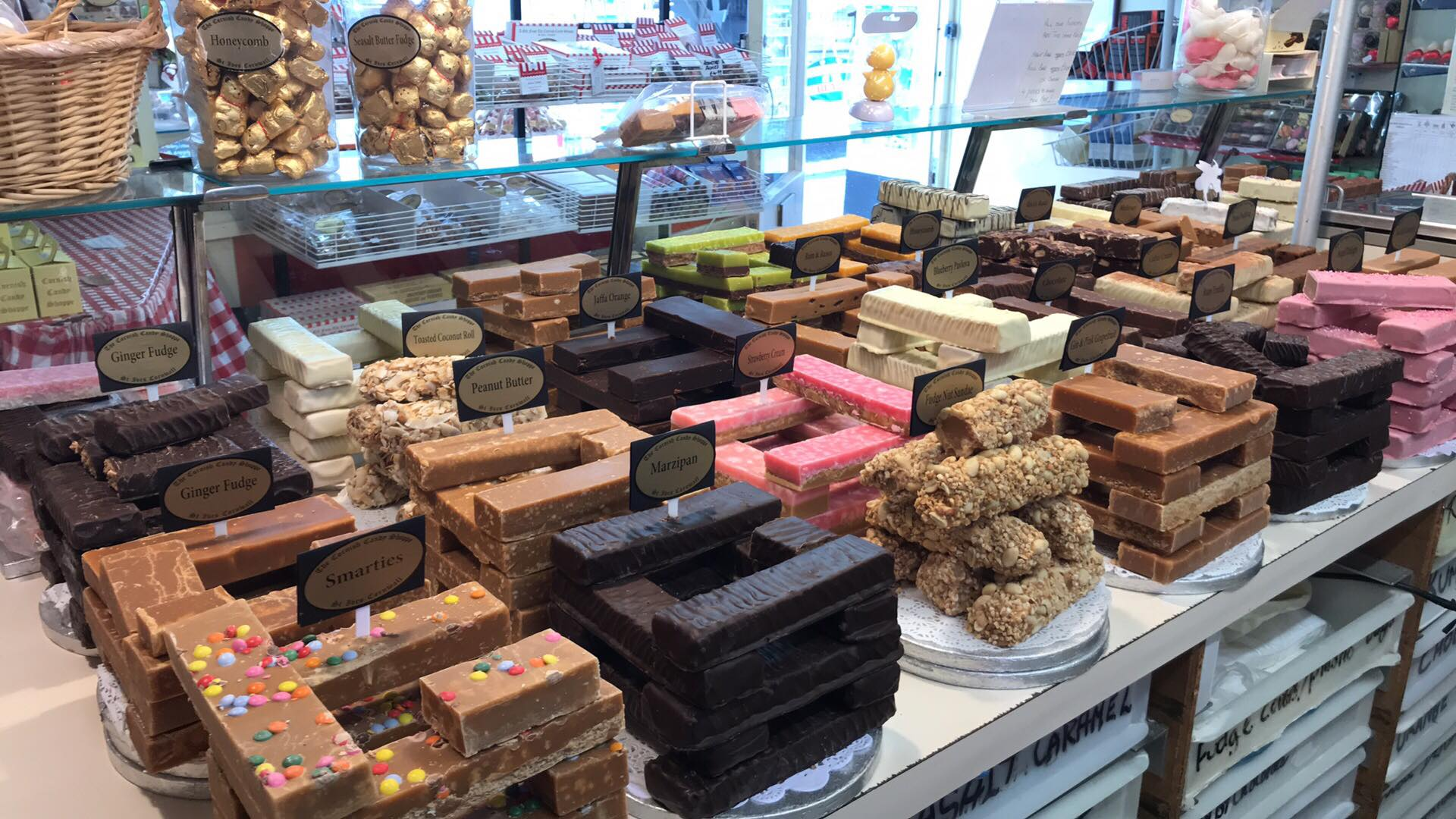 The Cornish Candy Shoppe Store Front