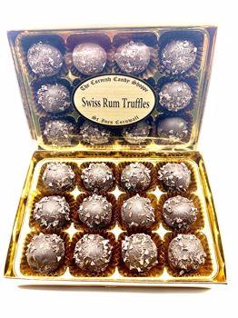 Gold Boxed Swiss Rum Truffles