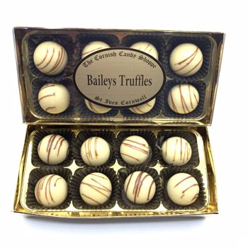 Gold Boxed Chocolates Baileys