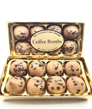 Gold Boxed Chocolates Coffee Bombs