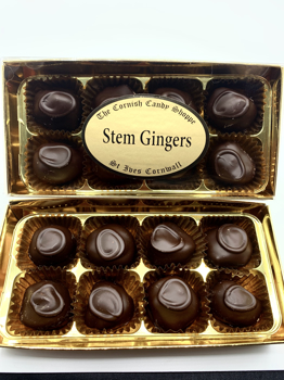 Gold Boxed Chocolate Stem Gingers
