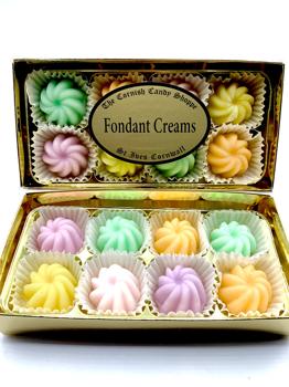 Gold Boxed Fondant Creams