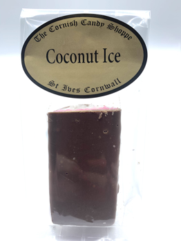 1/2 Bar Chocolate Coconut Ice