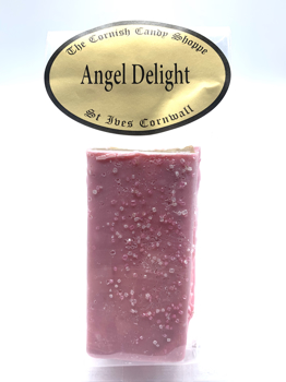 1/2 Bar Angel Delight Fudge