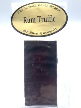 1/2 Bar Chocolate Rum Truffle