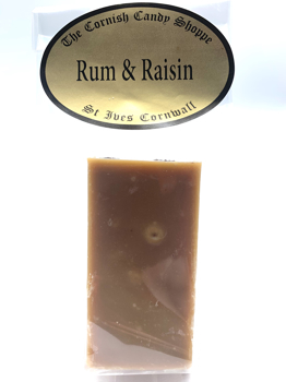 1/2 Bar Rum & Raisin