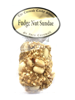 1/2 Bar Fudge Nut Sundae