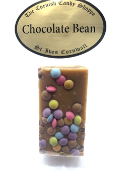 1/2 Bar Chocolate Bean Fudge