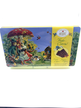 Collectible Easter Tins with Chocolates