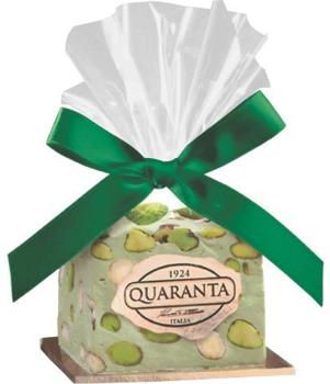 Italian Soft Nougat Cube - Pistachio