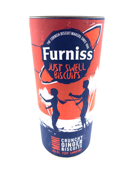 """Furniss """"Just Swell"""" Paddle Boarder Mini Gingerbread Drum"""