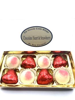 Chocolate Heart & Strawberrys