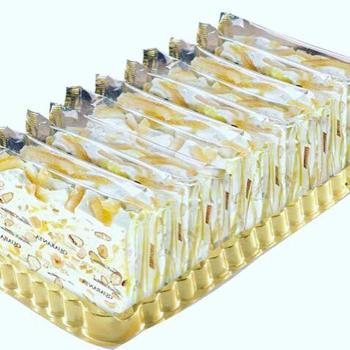 Italian Soft Nougat - Lemon Slab
