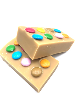 Smartie Fudge Bar