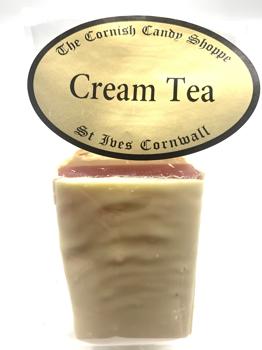 1/2 Bar Cream Tea Fudge