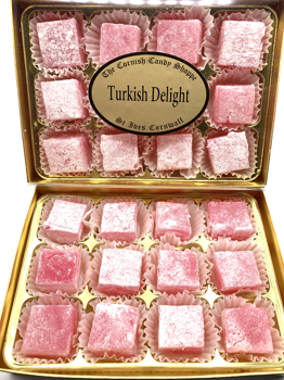 Rose Turkish Delight Gold Boxed