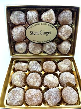 Crystallised Stem Gingers Boxed