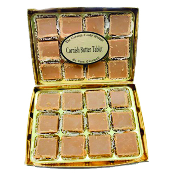 Gold Boxed Cornish Butter Tablet