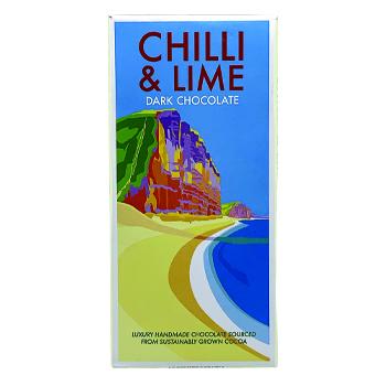 Chilli & Lime Chocolate Bar