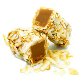 Toasted Coconut Flake Roll Bar