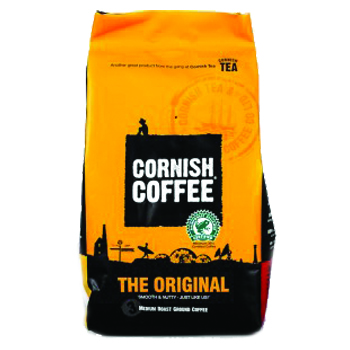 Original Cornish Coffee Medium Roast Ground.