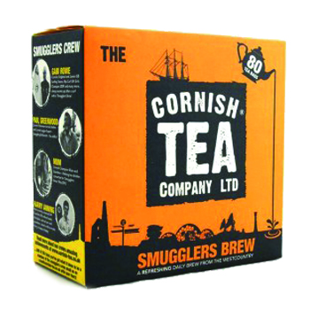 Cornish Smugglers Brew Tea 80 pack