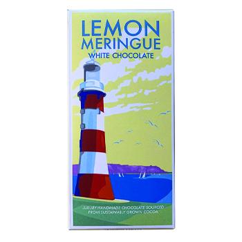 Lemon Meringue Chocolate Bar